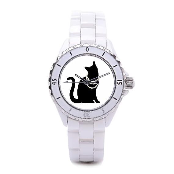 Queensland Funky relojes Kawaii de repuesto reloj bandas negro