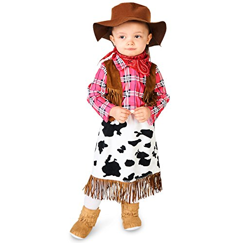 Leadtex - Cowgirl Princess Infant Costume - 12-18M ()