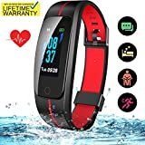 SKYGRAND Updated 2019 Version Fitness Tracker HR, High-End Activity Trackers Health Exercise Watch with Heart Rate Sleep Monitor, Smart Band Calorie Step Counter, Pedometer Walking for Men Women Kids