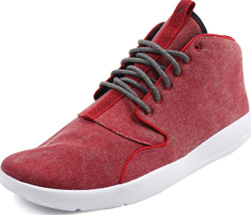Jordan Nike Men's Eclipse Chukka Gym Red/Black White Basketball Shoe 10.5 Men (Black Eclipse Casual Shoes)