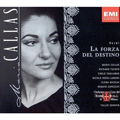 Verdi: Portland Mall La Forza Del Destino Callas complete opera Maria Rare with