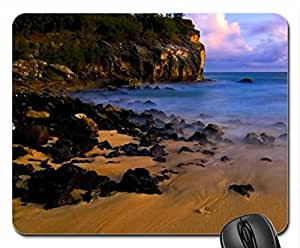 sunset in poipu kauai Mouse Pad, Mousepad (Beaches Mouse Pad)