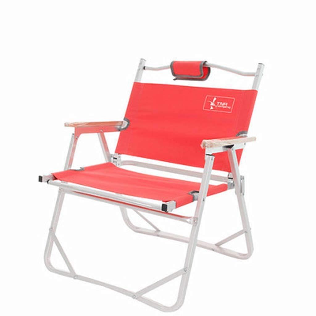 折りたたみ椅子 折りたたみ椅子/ビーチチェア/月型 釣りアウトドア家具 アルミニウム 超軽量チェア 折りたたみスツール ダブルオックスフォード キャンプチェア  C B07P8PZLDZ