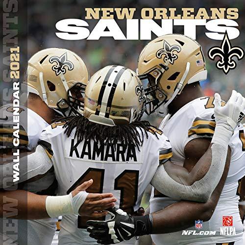 Calendrier Nfl 2021 New Orleans Saints 2021 12x12 Team Wall Calendar: Lang Companies