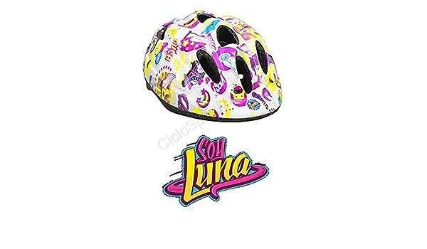 Soy Luna Casco Bicicleta Bimba – Niña/Circunferencia: 52 – 56 cm ...