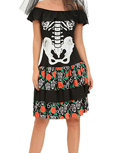 [YeeATZ Queen of the Dead Halloween Party Cosplay Costume(Size,M)] (Costumes With Mumus)