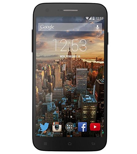 RCA G1 5.5'' Hd, Unlocked Dual Sim, 8Mp Camera, 8Gb Rom, 1Gb Ram, android 4.4 – Black by RCA