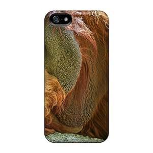 An Expressive Orangutan Awesome High Quality Iphone 5/5s Case Skin