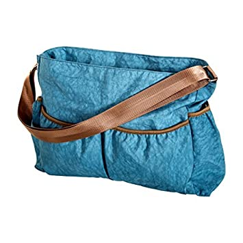 Arruga Azul Tote bolsa de pañales, Azul