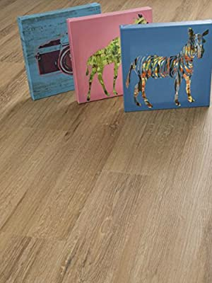 Granero Vinyl Flooring | Durable, Water-Resistant | Easy Install, Click-Lock | Plank SAMPLE by GoHaus
