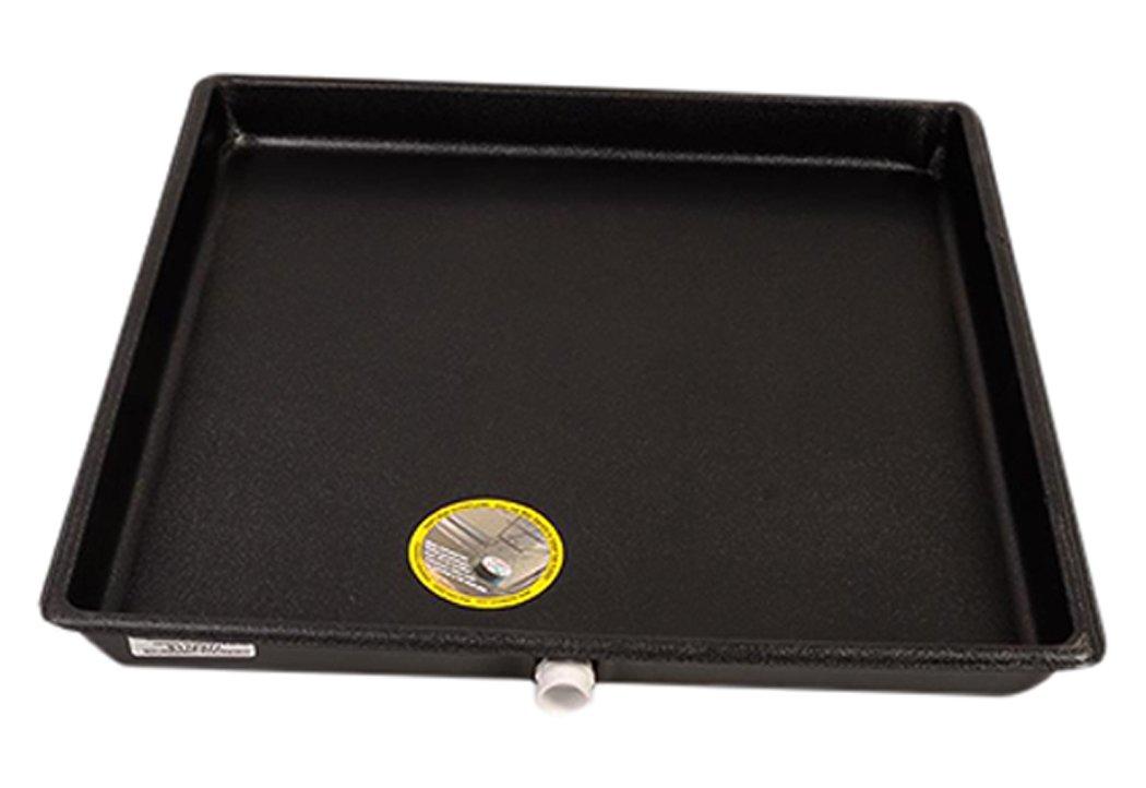 """DiversiTech 6-2424L Drain Pan, Plastic, 24"""" x 24"""", Large"""