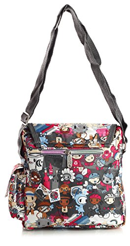 Big Handbag Shop - Bolsa unisex Messenger 135 - Winter Scene