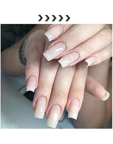 Uña Artificial libre de bricolaje de uñas pegamento Fibras de Fibra