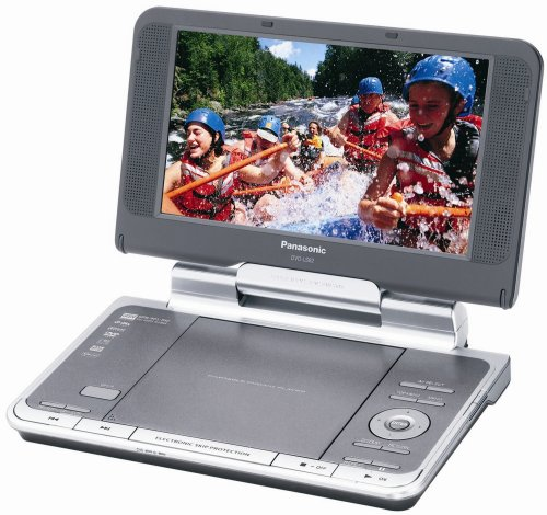 Panasonic DVD-LS82 8.5-Inch Portable DVD Player with Headrest (Panasonic Portable Headset)