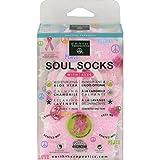 Earth Therapeutics Soul Socks Pink Plka Dot