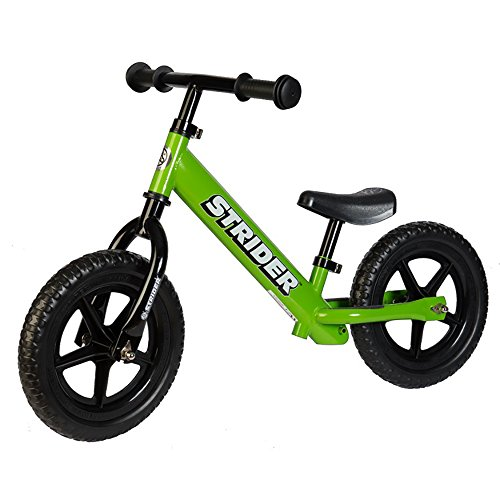 Strider – 12 Classic Balance Bike, Ages 18 Months to 5 Years, Green