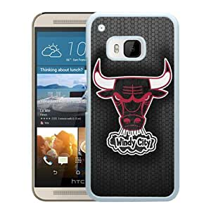 HTC ONE M9 Case,Chicago Bulls 6 White For HTC ONE M9 Case