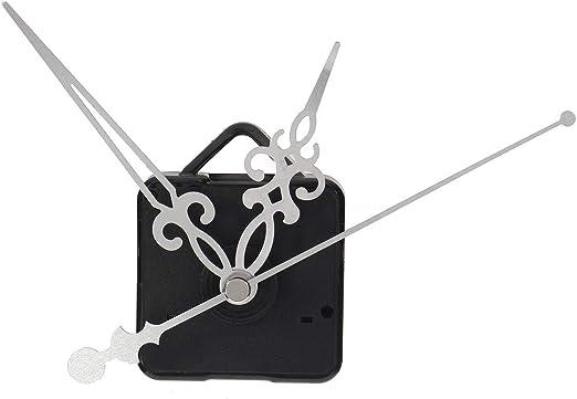 Amazon.com: Quartz Clock Movement Kit - Quartz Clock Hands - Silent Quartz Wall Clock Movement Mechanism Mute Hands Repair Parts Kit - Silver (Quartz Hands For Clock)