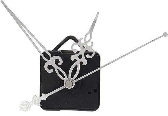 Amazon.com: Quartz Clock Movement Kit - Quartz Clock Hands - Silent Quartz Wall Clock Movement Mechanism Mute Hands Repair Parts Kit - Silver (Quartz Hands For Clock): Home Improvement