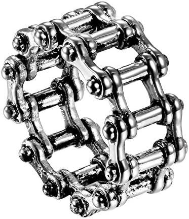 指輪 メンズ ステンレス 指輪 リング かっこいい 欧米 人気 ロック系 パック系 アクセサリー 誕生日 バレンタインデー 彼氏 プレゼント シルバー