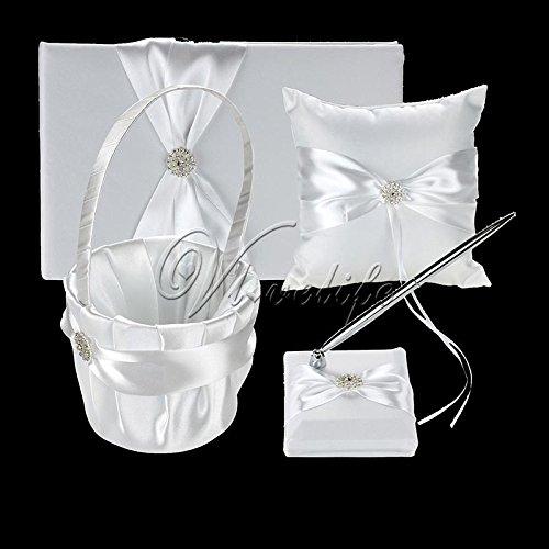 Crystals Flower Girl Basket - 9