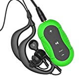 Aerb 4G Waterproof MP3 Music Player for Swimming & other Sports (IPX-8 Standard)--Green