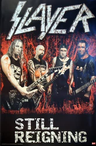 SLAYER POSTER Still Reigning RARE HOT NEW 24X36
