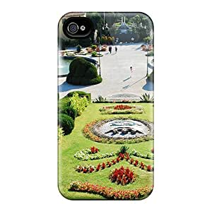 New Arrival Cover Case With Nice Design For Iphone 4/4s- Beautiful Garden Italy