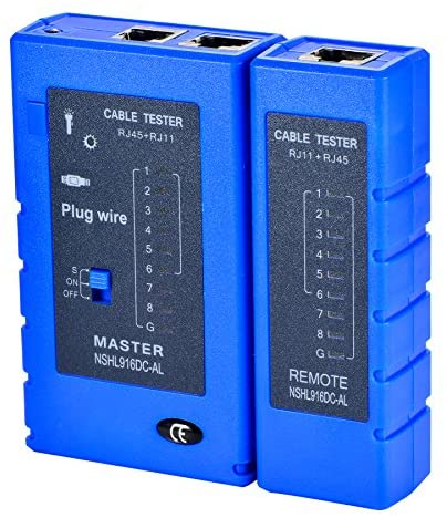 Cable Tester Multifunzionale RJ45 RJ11 Network Cable Tester Ethernet LAN Network Testing Tool