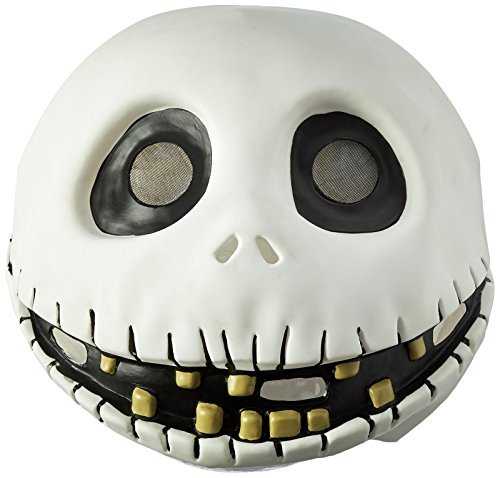 Halloween Party Costume Latex Mask Nightmare Before Christmas Jack Skellington -
