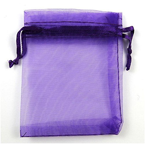 (Organza Wedding Party Favor Bags- Package of 100 (6