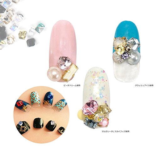 Nail Art Rhinestones Glass Stones 3D Nail Jewelry Decorations 100pcs ( Mixed color 4MM ) Sindy