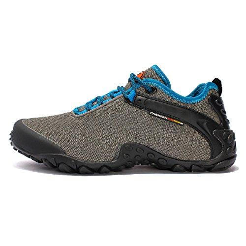Primavera Y Otoño De Malla Amantes Del Aire Libre Sra CHT Zapatos Para Caminar Grey