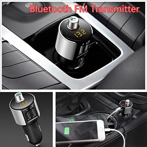 Creazy Car Bluetooth Kit FM Transmitter Wireless Radio Adapter USB