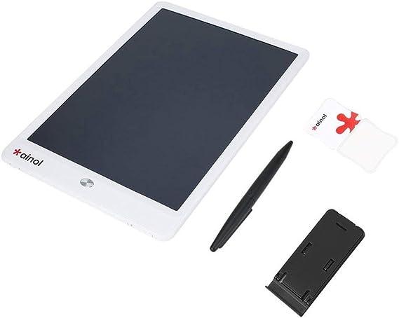 10インチ超薄型省エネデジタルLcdグラフィックスライティングタブレットEwriterグラフィティボード手書きパッド(ブラック&ホワイト)