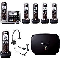 Panasonic KX-TG7875S Link2Cell Bluetooth Enabled Phone, KX-TG680S Cordless Telephone, Headset & Range Extender