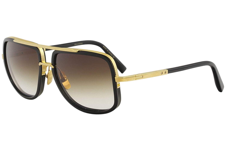 recoger 0de78 44dfb Amazon.com: Sunglasses Dita MACH ONE DRX 2030 B Shiny 18K ...