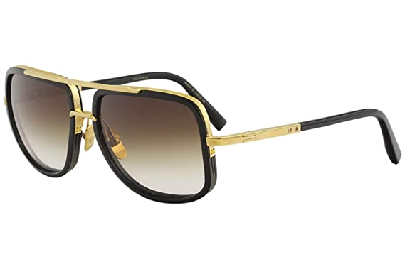 2dd88ac5126a Image Unavailable. Image not available for. Color  Sunglasses Dita MACH ONE  DRX 2030 B Shiny 18K Gold-Black ...