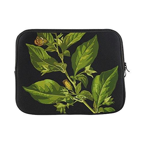 - Design Custom Belladonna Deadly Herbal Medicinal Medicine Sleeve Soft Laptop Case Bag Pouch Skin For Macbook Air 11