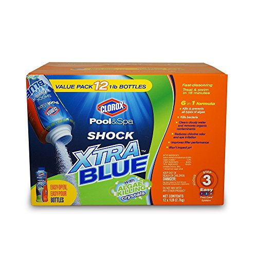 Clorox Pool&Spa 33012CLX Shock Xtra Blue, - Shock Swimming Pool