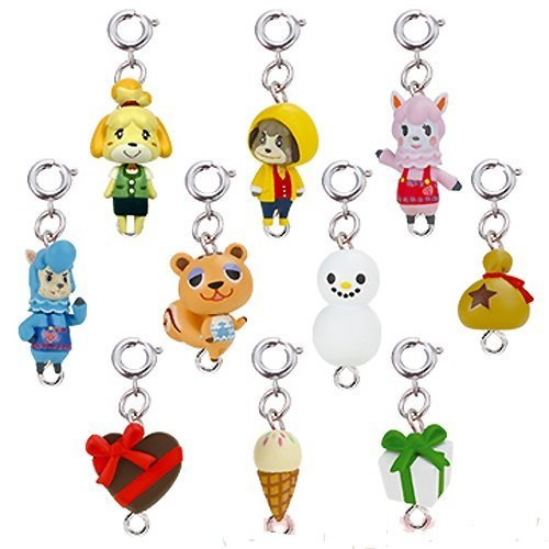 Animal Crossing Jump Out New Leaf Mascot Collection Part2 Key Chain Figure -Set of 10 pc
