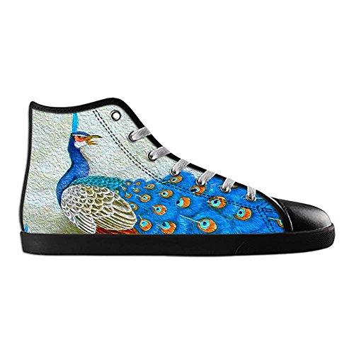 Dalliy sch?ne pfau Mens Canvas shoes Schuhe Footwear Sneakers shoes Schuhe B