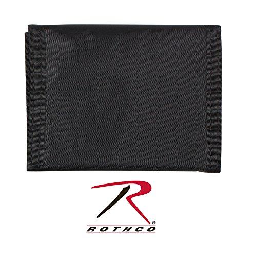 (Rothco Nylon Commando Wallet, Black)