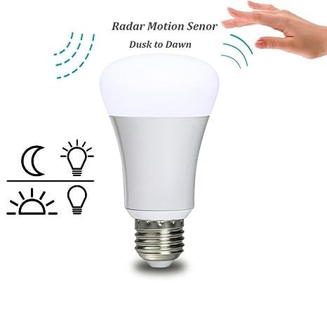 Sensor de movimiento luz lombex 7 W A15 E27 interior Sensor de movimiento luz LED Bombilla