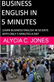 img - for Business English in 5 minutes book / textbook / text book
