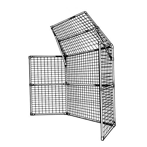 Jaypro Sports BSP-30-6 Perm Bsbl-Sftbl Backstop 3 Panels, 1 Ctr Over by Jaypro
