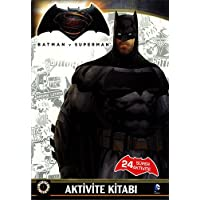 Batman v Superman - Aktivite Kitabı: 24 Süper Aktivite
