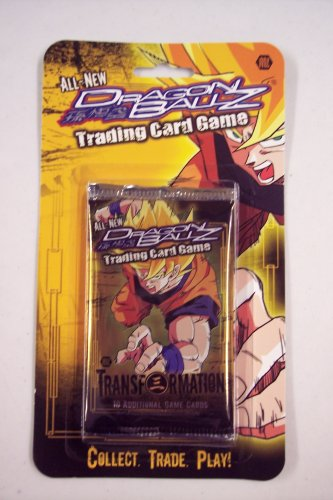 Dragonball Z Transformation Trading Card Game Booster Pack (Best Dragon Ball Z Transformations)