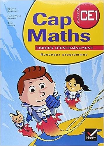 Téléchargement Cap Maths Cycle 2 CE1 : Nouveaux programmes pdf