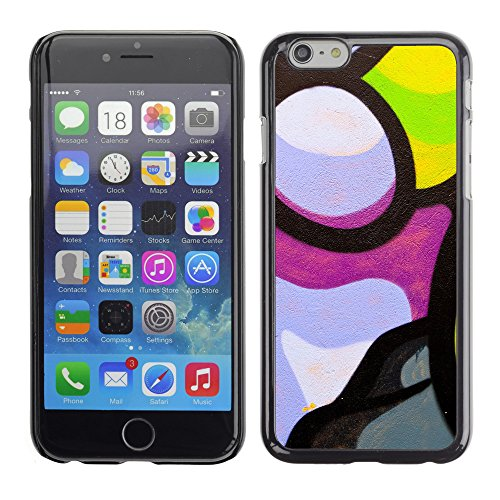 Hülle Case Schutzhülle Cover Premium Case // V00002300 Graffiti // Apple iPhone 6 6S 6G 4.7""
